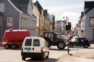 Tromsø, eine ländliche Stadt mit etwas über 70'000 Einwohnern