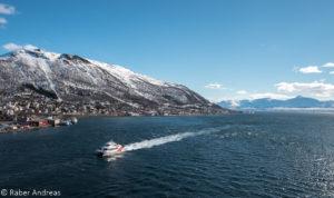 Blick von der Tromsøbrua