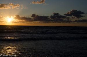 Sonnenuntergang Nordseeland, Sejerø Bugt